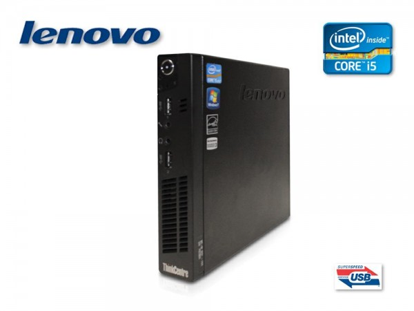 Lenovo ThinkCentre M93p Tiny Intel Core i5 4590T 2.0 GHz, 8GB Ram 500 GB HDD Win10