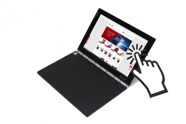 Lenovo YOGA Book YB1-X91L Intel x5-Z8550 1.44GHz 4GB RAM 64GB eMMC Webcam TOUCHSCREEN