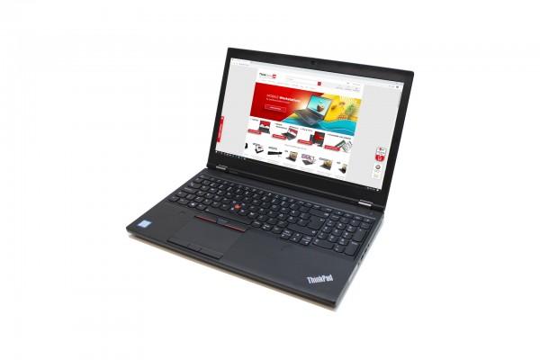 """A-Ware Lenovo ThinkPad P52 15,6"""" i7-8850H 32GB 512GB SSD Nvidia P2000 1920x1080 IPS thinkstore24.de"""