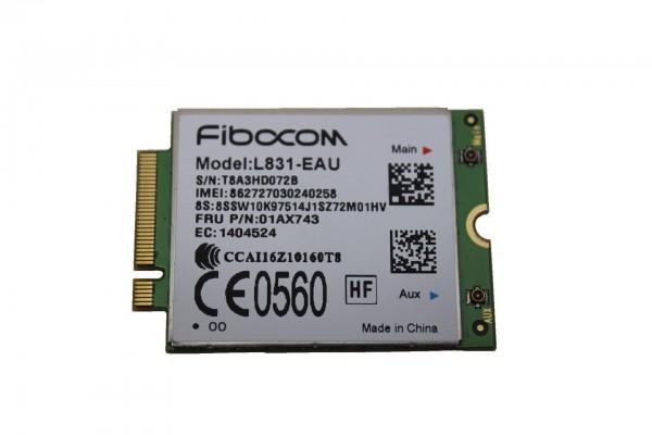 Fibocom L831-EAU 4G LTE WWAN Modem für Lenovo ThinkPad T470