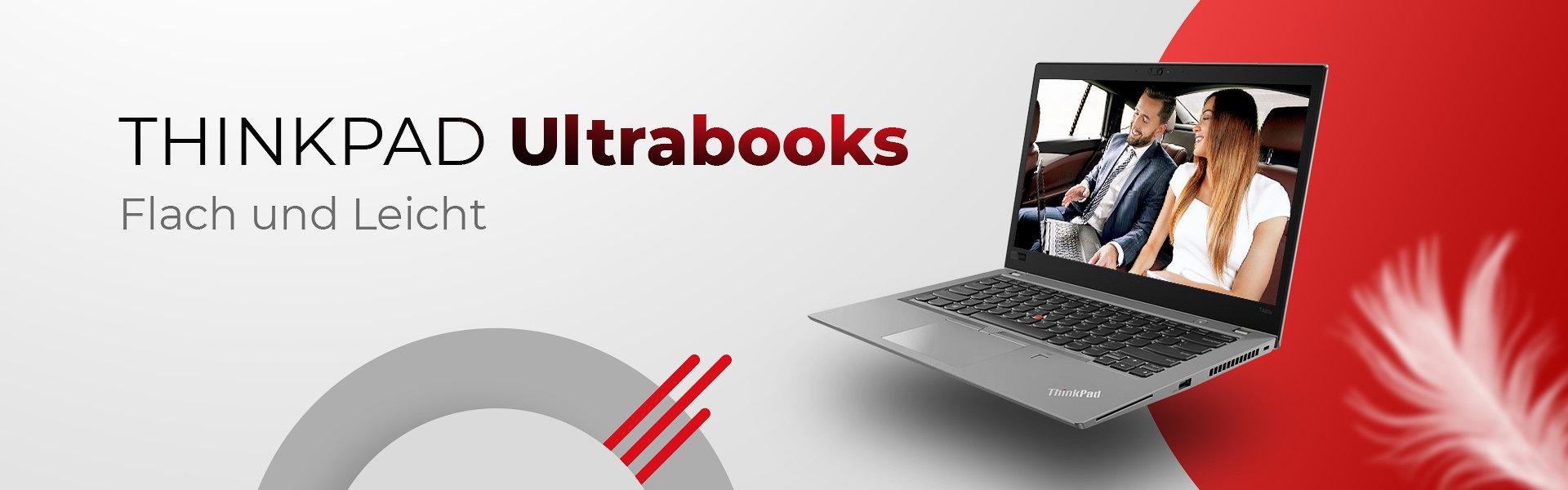 ThinkPad Ultrabooks - flach und leicht