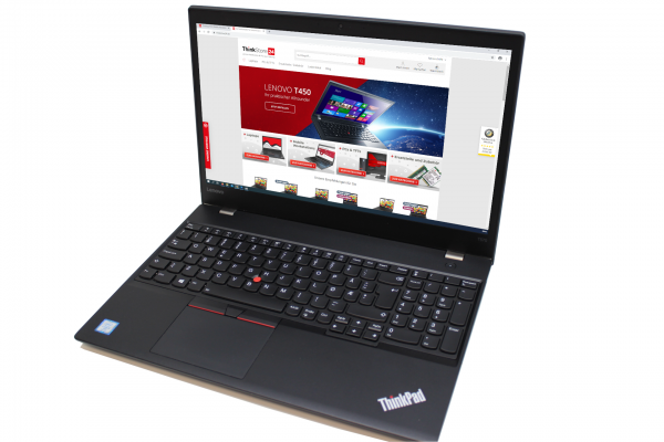 "Lenovo ThinkPad T570 i5-7200U 2,5GHz 8GB 256GB SSD 15,6"" FullHD IPS Webcam k"