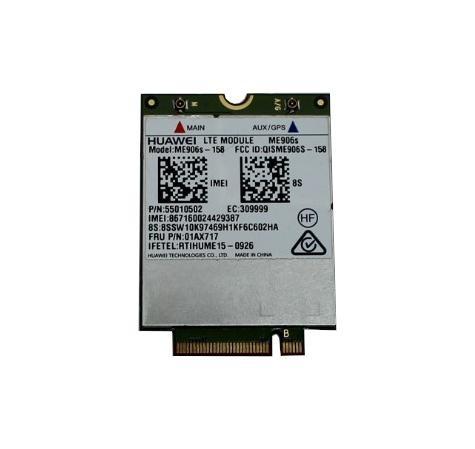 WWAN Karte 4G LTE Huawei ME906s-158 P/N 55010502 Lenovo t460s X1 Carbon Yoga