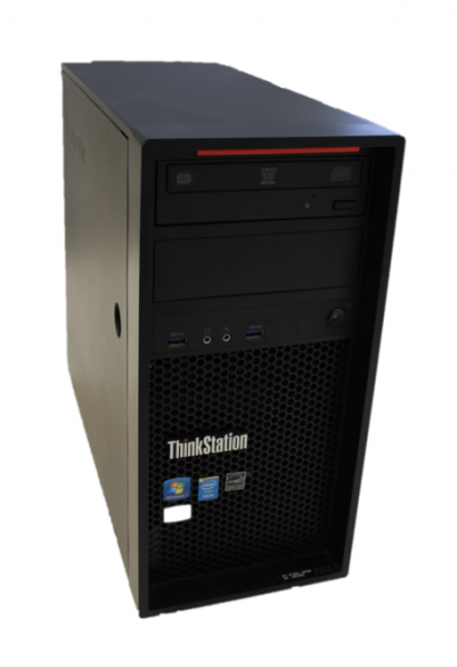 Lenovo ThinkStation Tower P300 Intel Xeon E3 3,1GHz 8GB Ram 500GB HDD ATI Windows 10