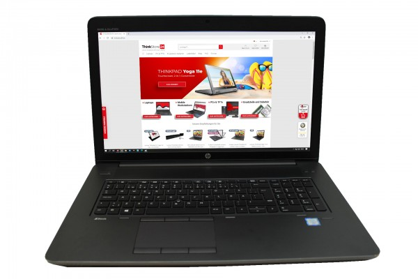 """HP ZBook 17 G3 17,3"""" Intel Core i7-6820HQ 16GB 512GB SSD 1TB HDD FullHD M3000M"""