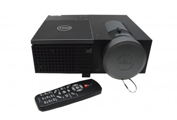 DLP-Beamer Dell 4320 mit Fernbedienung 1280 x 800 WXGA