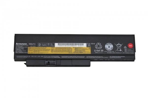 Original Lenovo ThinkPad Akku 44 4 Zellen Battery für X220 X230 1820mAh P/N: 0A36305