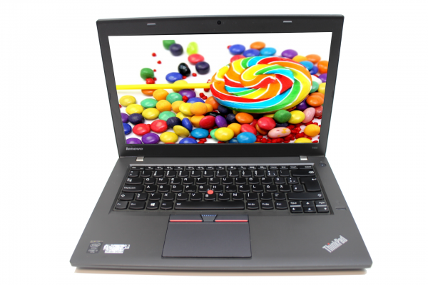 A-Ware Lenovo ThinkPad T450 Core i5-5200U 8 GB RAM 128GB SSD 1600x900 Webcam Bluetooth