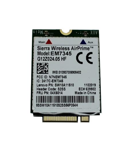 Sierra AirPrime UMTS WWAN 4G LTE EM7345 P/N SW10A11510