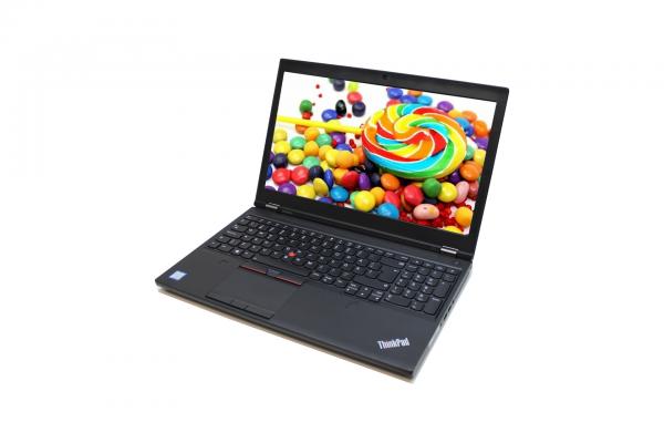 """A-Ware: Lenovo ThinkPad P52 15,6"""" i7-8850H 2,6GHz 16GB 256GB SSD Nvidia P1000 1920x1080 IPS"""