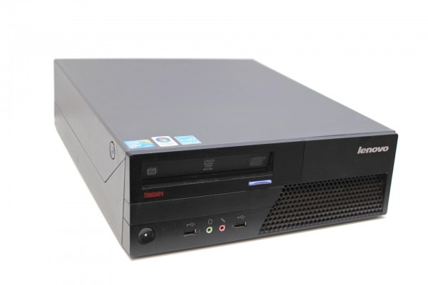 Lenovo ThinkCentre M58p Intel Core 2 Duo E8400 3,0GHz 8GB RAM 320GB HDD DVD-RW SFF ohne Win